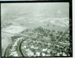 Aerial view of La Mirada Park and Golf Course