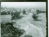 Aerial view of the property before construction of Los Amigos Golf Course