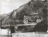 Car on Bridge, Malibu, California