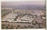 Aerial view of Lowell High School, Whittier, California