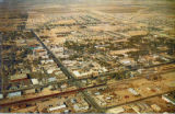 Aerial View of Lancaster, California, 1950s
